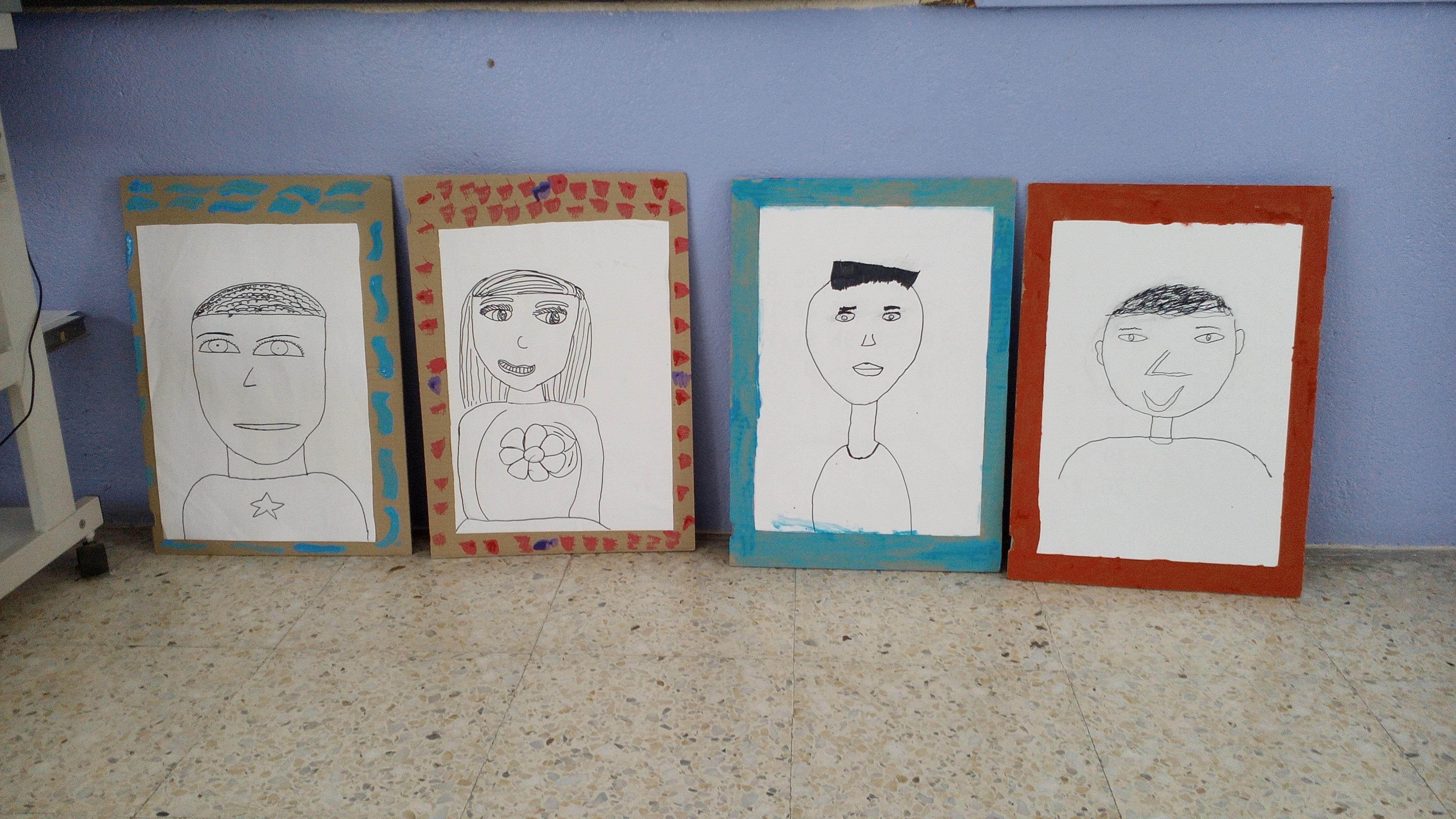 la pau. lamines retrats